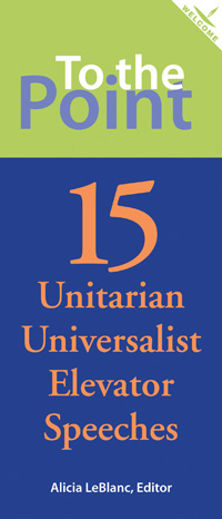 Check out the pamphlet To the Point, where a variety of different Unitarian Universalists describe their faith.